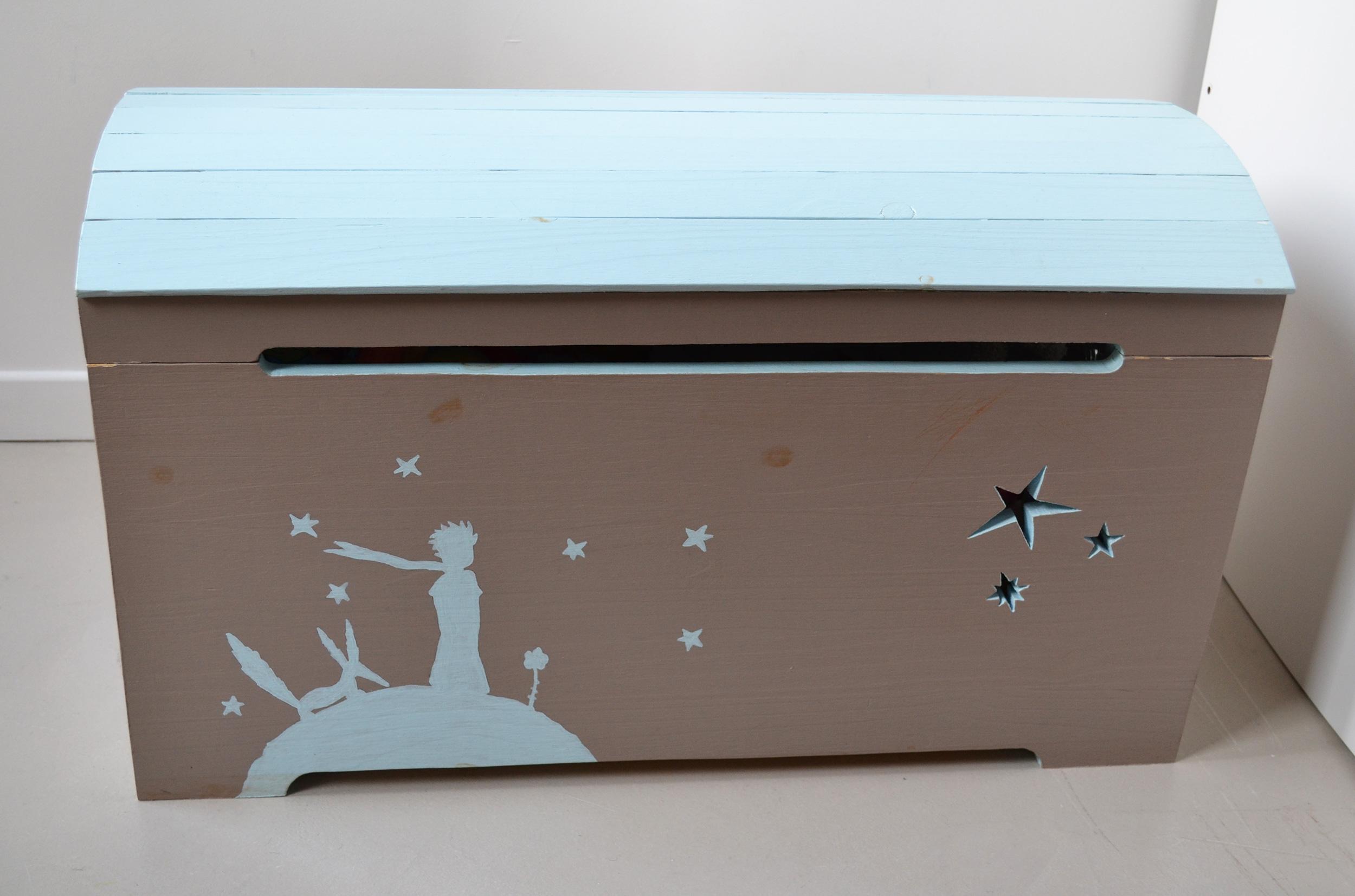Coffre jouets cr ation de meubles en bois sur mesure - Creation de meuble sur mesure ...