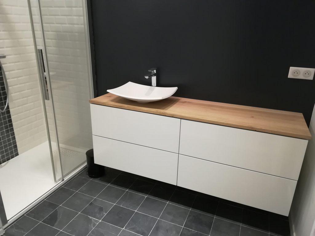 Meuble salle de bain IKEA hack