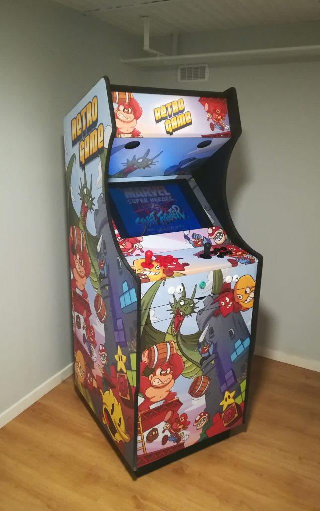 borne d'arcade stickers